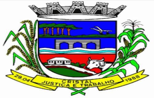 Brasão del município de Cristal