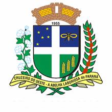 Brasão del município de Cruzeiro do Oeste
