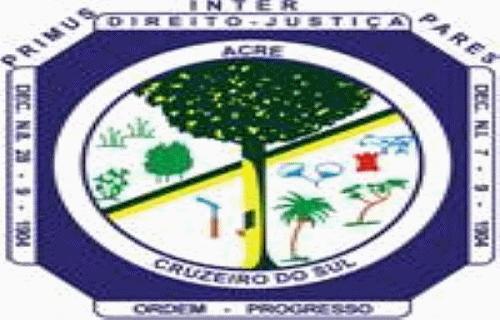 Brasão del município de Cruzeiro do Sul