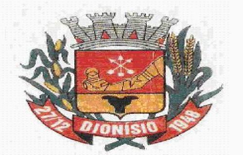 Brasão del município de Dionísio