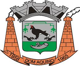 Brasão del município de Dom Aquino