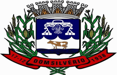 Brasão del município de Dom Silvério