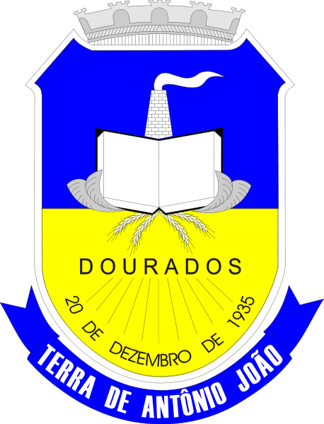 Brasão del município de Dourados