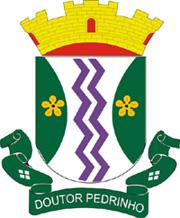 Brasão del município de Doutor Pedrinho