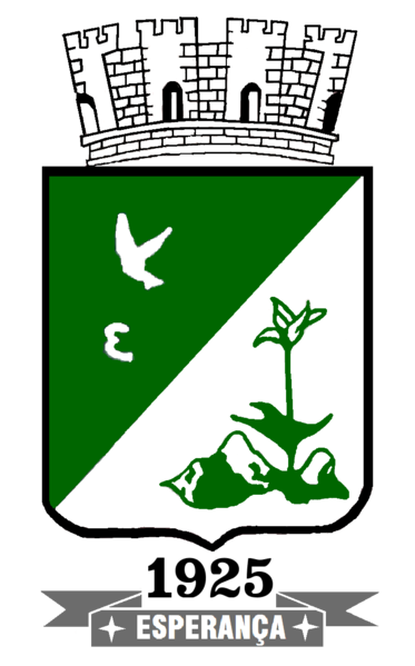 Brasão del município de Esperança