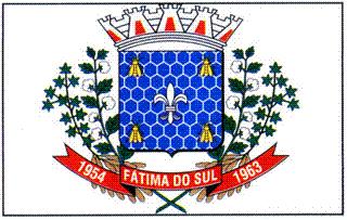 Brasão del município de Fátima do Sul