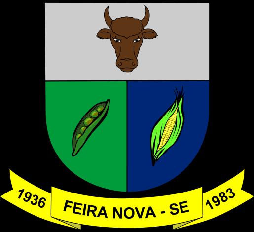 Brasão del município de Feira Nova