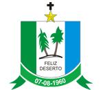 Brasão del município de Feliz Deserto