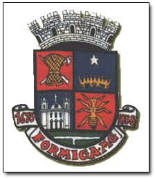 Brasão del município de Formiga