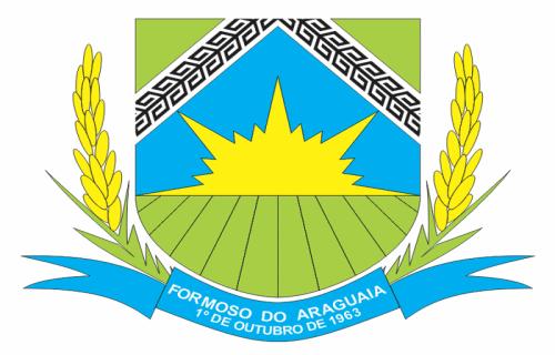 Brasão del município de Formoso do Araguaia