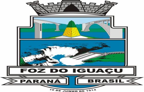 Brasão del município de Foz do Iguaçu