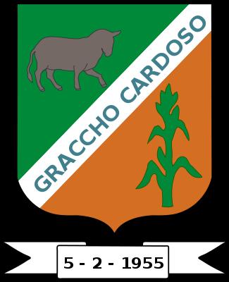 Brasão del município de Graccho Cardoso