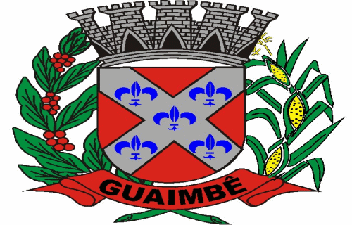 Brasão del município de Guaimbê