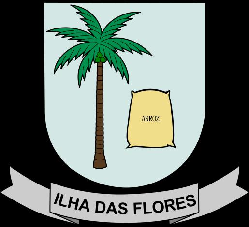 Brasão del município de Ilha das Flores
