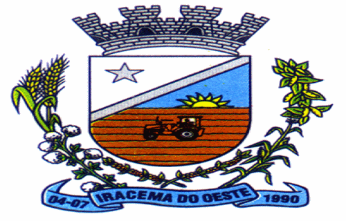 Brasão del município de Iracema do Oeste