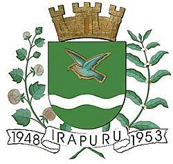 Brasão del município de Irapuru