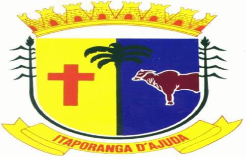 Brasão del município de Itaporanga d'Ajuda