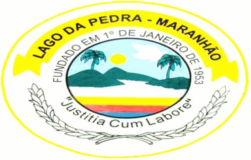 Brasão del município de Lago da Pedra