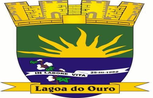 Brasão del município de Lagoa do Ouro