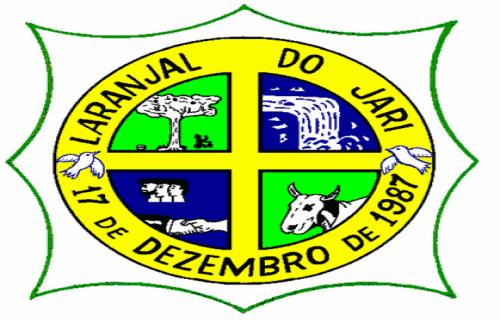 Brasão del município de Laranjal do Jari