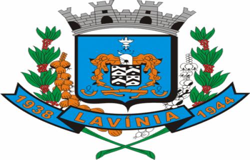Brasão del município de Lavínia