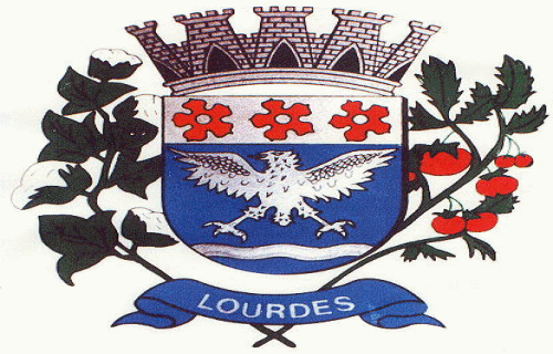 Brasão del município de Lourdes