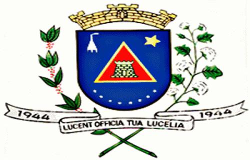 Brasão del município de Lucélia