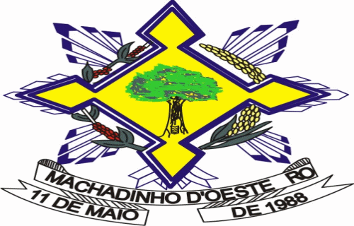 Brasão del município de Machadinho d'Oeste