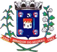 Brasão del município de Minador do Negrão