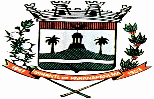 Brasão del município de Mirante do Paranapanema