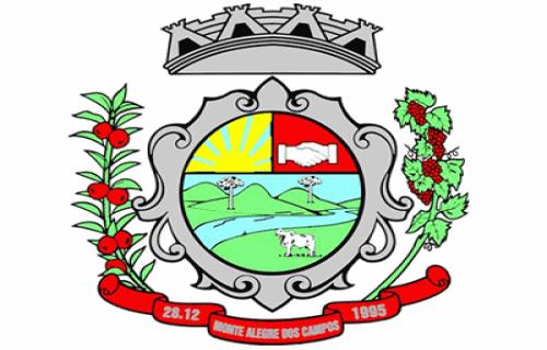 Brasão del município de Monte Alegre dos Campos