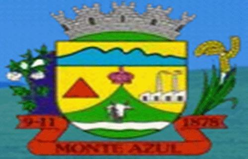 Brasão del município de Monte Azul