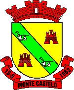 Brasão del município de Monte Castelo