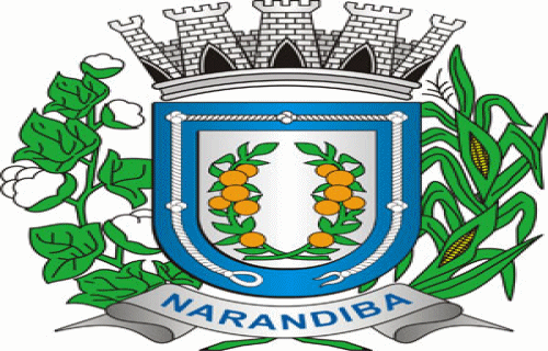 Brasão del município de Narandiba