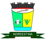 Brasão del município de Nordestina