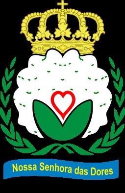 Brasão del município de Nossa Senhora das Dores