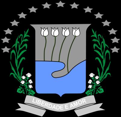 Brasão del município de Nossa Senhora de Lourdes