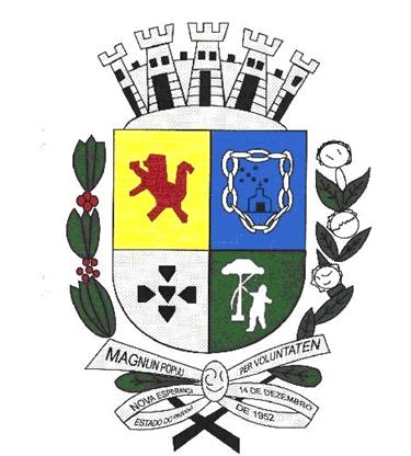 Brasão del município de Nova Esperança
