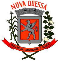 Brasão del município de Nova Odessa