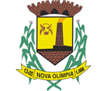 Brasão del município de Nova Olímpia
