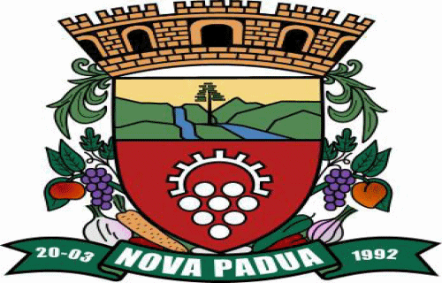 Brasão del município de Nova Pádua