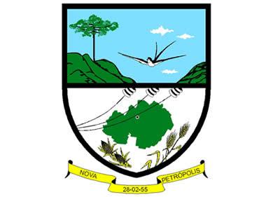 Brasão del município de Nova Petrópolis