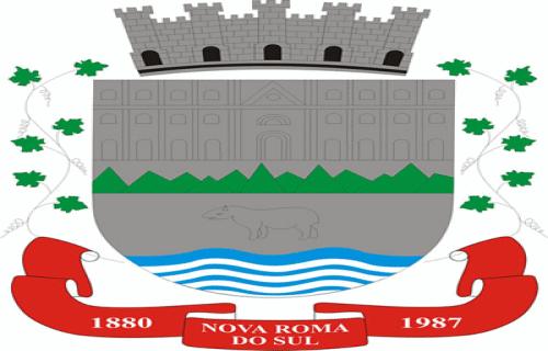 Brasão del município de Nova Roma do Sul