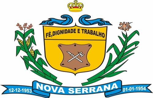 Brasão del município de Nova Serrana
