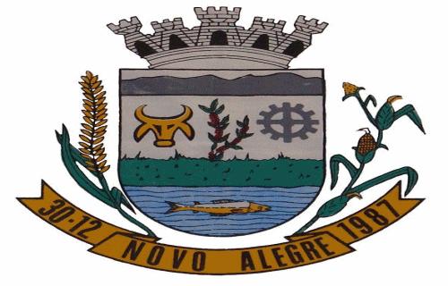 Brasão del município de Novo Alegre