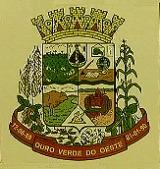 Brasão del município de Ouro Verde do Oeste