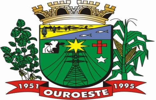 Brasão del município de Ouroeste