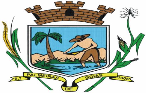 Brasão del município de Palmeiras de Goiás