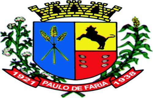 Brasão del município de Paulo de Faria