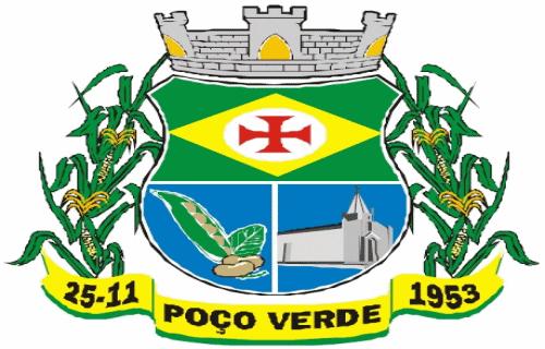 Brasão del município de Poço Verde